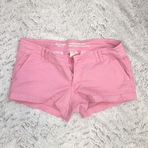 Mossimo pink cotton short